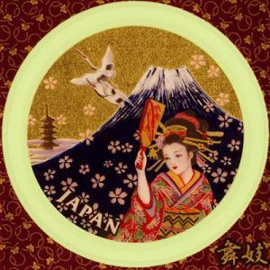 金箔シール[JAPANシリーズ/舞妓]|kinpakuya