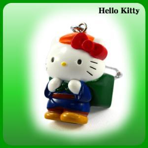 【海外販売NG】 ご当地キティ 富山限定「薬売り/マスコットキーホルダー」|kinpakuya