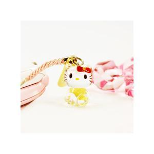 【海外販売NG】 ご当地キティ 金沢限定「金箔入手作り硝子/根付(全2色)」 kinpakuya 03