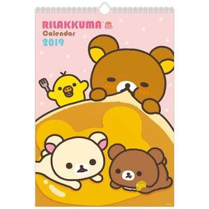 San-X リラックマ「カレンダー(2019)/壁かけカレンダー(B4)(CD32501)」|kinpakuya