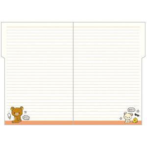 San-X リラックマ「ポケットスケジュールコレクション2020/糸とじ手帳A5(インデックス)(ME66601)」|kinpakuya|06