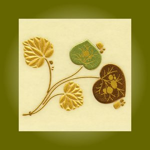 うつし金蒔絵「徳川美術館コレクション/葵(あおい)の葉」|kinpakuya