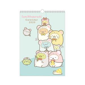 San-X すみっコぐらし「カレンダー2020/壁かけカレンダー(B4)(CD33601)」|kinpakuya