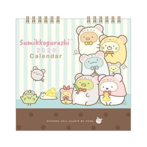 San-X すみっコぐらし「カレンダー2020/卓上カレンダー(CD34101)」|kinpakuya