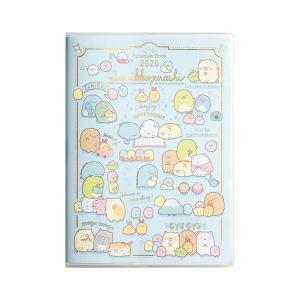 San-X すみっコぐらし「ポケットスケジュールコレクション2020/糸とじ手帳A5(インデックス)(ME66602)」|kinpakuya