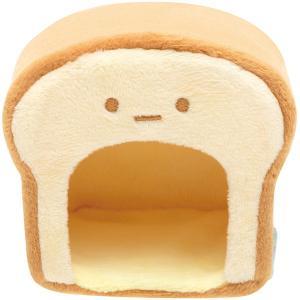 San-X すみっコぐらし「すみっコパンきょうしつ/てのりぬいぐるみ(食パン型のおうち)(MY14601)」」|kinpakuya