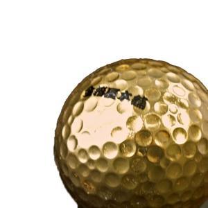 金箔貼ゴルフボール名入れサービス|kinpakuya