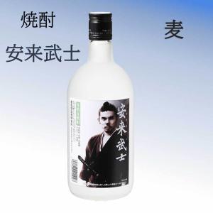 安来武士 本格麦焼酎 四合瓶 720ML|kinpo