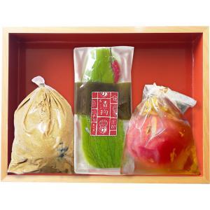 夏の浅漬3点セット kinse-kyo-tsukemono