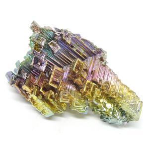 ビスマス人工結晶 人工ビスマス結晶 ビスマス 蒼鉛 オーストラリア産
