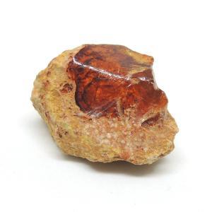 オパール 蛋白石 原石 メキシコ産 レッドオパール 母岩付き