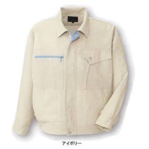 作業服 作業着 コーコス信岡 K-1201 長袖ブルゾン M・ブルー6 kinsyou-webshop