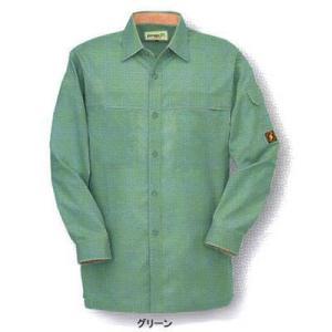 作業服 作業着 コーコス P-5588 防汚・製品制電 長袖シャツシャツ 4L〜5L|kinsyou-webshop