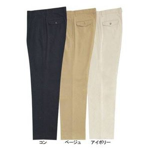作業服 ズボン 作業着 ジーベック 12170 チノツータックパンツ W82・コン10|kinsyou-webshop