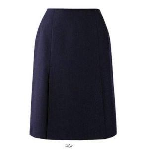 ピエ S9551 ボックスプリーツスカート 17号〜21号 オフィスウェア|kinsyou-webshop