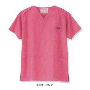 アンジェクラブ 7000SC 男女兼用スクラブ 4L・チェリーピンク|kinsyou-webshop