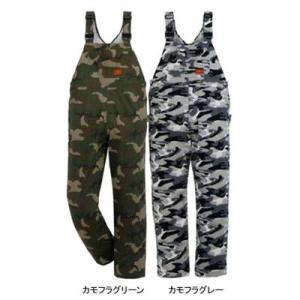 作業服 作業着 つなぎ DON 5713 オーバーオール 6L・カモフラグレー67|kinsyou-webshop