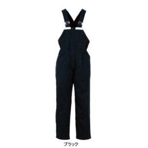 作業服 作業着 つなぎ DON 8101 サロペット LL・ブラック5|kinsyou-webshop