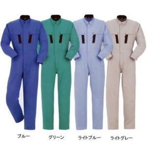作業服 作業着 つなぎ DON 6000 ツナギ服 4L・グリーン4|kinsyou-webshop