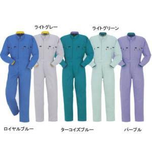 作業服 作業着 つなぎ DON 6200 ツナギ服 M・パープル76 kinsyou-webshop
