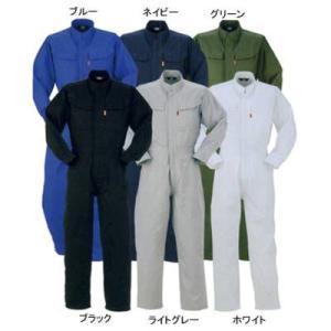 作業服 作業着 つなぎ DON 112 ツナギ服 L・ホワイト99|kinsyou-webshop