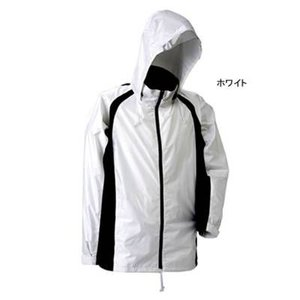 J-626 透湿ストリートシャワージャケット M ホワイト23|kinsyou-webshop