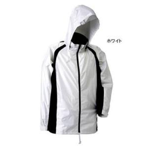 J-626 透湿ストリートシャワージャケット LL ホワイト23|kinsyou-webshop