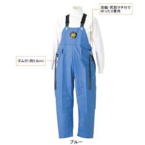 G-229 マリン胸付ズボン XL ブルー2|kinsyou-webshop