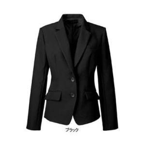 事務服 制服 ヌーヴォ FJ15620 ジャケット 7号・ブラック9|kinsyou-webshop