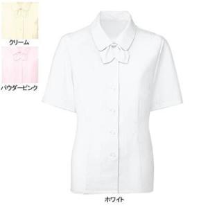 ヌーヴォ FB7088 ブラウス/リボン付(半袖) 5号〜19号 オフィスウェア 事務服 制服|kinsyou-webshop