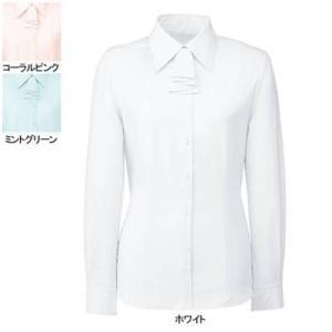 ヌーヴォ FB7549 ブラウス/リボン付(長袖) 5号〜19号 オフィスウェア 事務服 制服|kinsyou-webshop