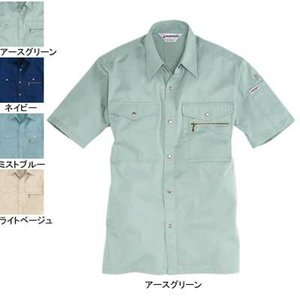 バートル 621 半袖シャツ