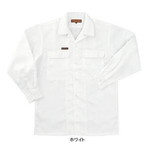 作業服 作業着 関東鳶 990 OP-200 唐獅子牡丹 オープンシャツ L・ホワイト0 kinsyou-webshop