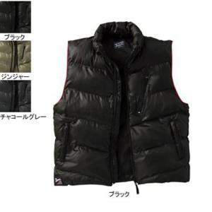 作業服 作業着 防寒着 防寒服 自重堂 58110 防寒ベスト L・ブラック044|kinsyou-webshop