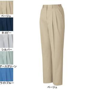 作業服 ズボン 作業着 自重堂 80106 エコ3バリューレディースツータックパンツ L・ベージュ004 kinsyou-webshop