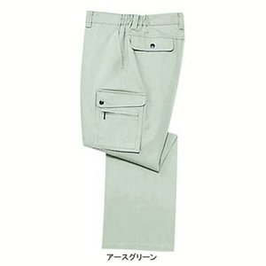 作業服 作業着 秋冬用 ズボン 自重堂 172 カーゴパンツ L・アースグリーン039|kinsyou-webshop