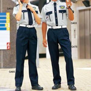 G-best G403 夏半袖ペアシャツ SS〜4L 警備服 防犯商品 kinsyou-webshop