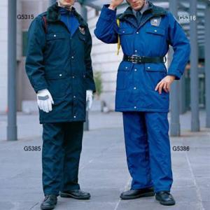 警備服・防犯商品 防寒着 防寒服  G-best G5315 防寒コート M〜5L|kinsyou-webshop