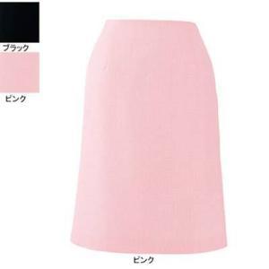 事務服 制服 ピエ S5511-38 Aラインスカート(57cm丈) 13号・ピンク|kinsyou-webshop