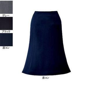 事務服 制服 ピエ S2003-11 フレアースカート(57cm丈) 21号・濃コン|kinsyou-webshop