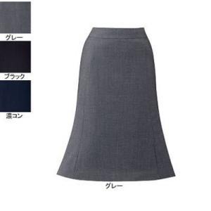オフィスウェア 事務服 制服 ピエ S2003-90 フレアースカート(57cm丈) 5号〜15号|kinsyou-webshop