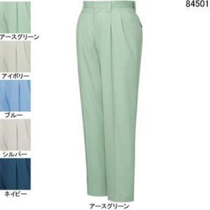 作業服 作業着 春夏用 ズボン 自重堂 84501 ツータックパンツ W88・アースグリーン039 kinsyou-webshop