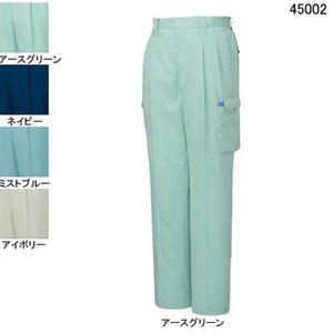 作業服 作業着 春夏用 ズボン 自重堂 45002 ツータックカーゴパンツ W88・アースグリーン039 kinsyou-webshop