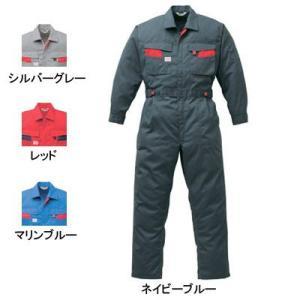 作業服 作業着 つなぎ 山田辰AUTO-BI 8300 ツヅキ服 4L〜5L|kinsyou-webshop