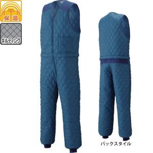 防寒着 防寒服 作業服 作業着 山田辰AUTO-BI 6600 腰割れ式キルトスーツ 3L|kinsyou-webshop