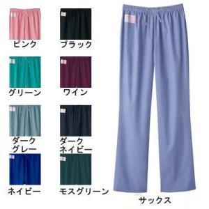 ソワンクレエ 6003SC ストレートパンツ SS〜4L 医療白衣・介護服 kinsyou-webshop