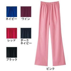 ソワンクレエ 6005SC ブーツカットパンツ S〜4L 医療白衣・介護服 kinsyou-webshop
