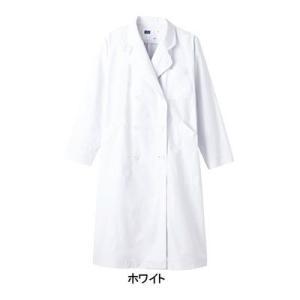 医療白衣・介護服 WHISeL 自重堂 WH2214 レディースダブルコート S〜4L|kinsyou-webshop