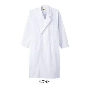 医療白衣・介護服 WHISeL 自重堂 WH2112 メンズダブルコート S〜5L|kinsyou-webshop
