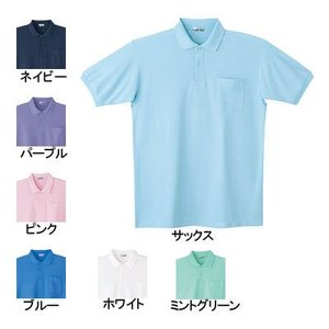 医療白衣・介護服 WHISeL 自重堂 24414 半袖ポロシャツ S〜5L|kinsyou-webshop